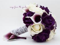 Calla Lilies Wedding Bouquet 2