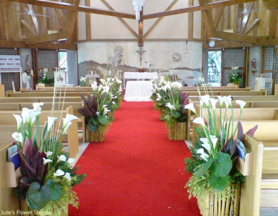 Lily Wedding Decorations