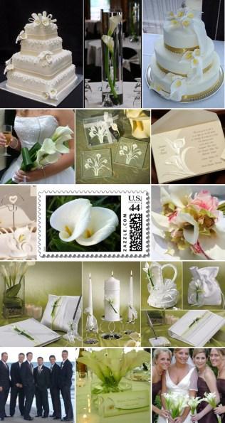 Calla Lily Wedding Decorations