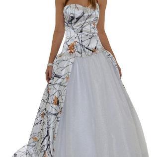 Camo Wedding Dresses [slideshow]
