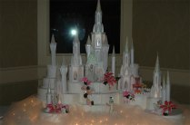 Castle Cake Toppers For Weddings Disney Castle Wedding Cake