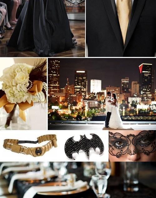 Classy Ideas For A Batman Themed Wedding