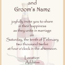 Clever Wedding Invitation Text