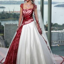 Collection Non White Wedding Dress Pictures