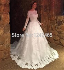 Compare Prices On Lace Victorian Ball Gown Wedding Dresses