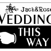 Compare Prices On Wedding Direction Sign