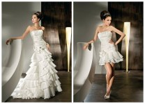 Contemporary 2 In 1 Wedding Dresses New At Concept Gallery Ideas