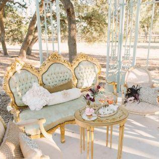 Copper Plum Antique Gold Autumn Wedding { Vintage Inspired