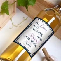 Custom Wine Bottle Labels Personalized Wedding Favors Waterproof