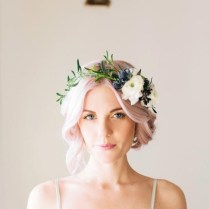 Diy Wedding Flowers Delicate Floral Crowns For Brides, Soft