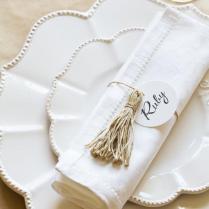 Diy Wedding Place Settings