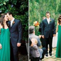 Emerald Green Wedding Dress 02