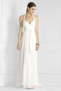 Empire Halter Wedding Dress