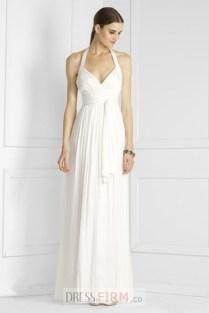 Empire Halter Wedding Dress