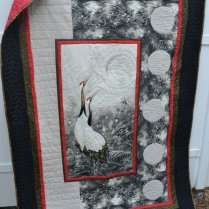 Handmade Asian Quilt Retirement Gift By Truelovequiltsforyou