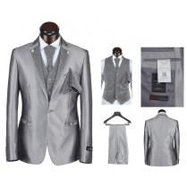 Handsome Groom Charming Wedding Suit 5 Pieces Set