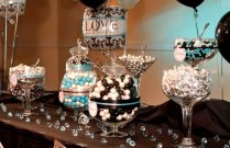 Home Design June&;s Anniversary On Turquoise Wedding Decor Blue
