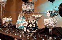 Home Design June&;s Anniversary On Turquoise Wedding Decor Blue
