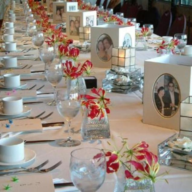 How To Decor Wedding Table