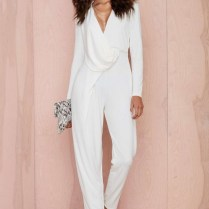 Images Of White Wedding Jumpsuit
