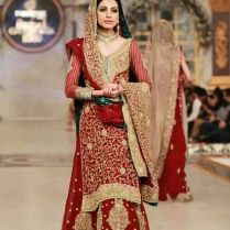 Latest Pakistani & Indian Wedding Dresses 2016