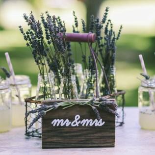 Lavender Rustic Wedding Inspiration