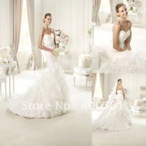 Mermaid Wedding Dresses With Ruffles And Lace Related Keywords