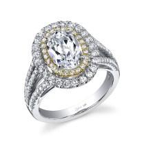 Mixed Metals Engagement Rings