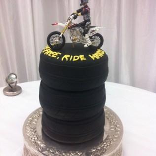 Motorcycle Grooms Cake Ideas 4567