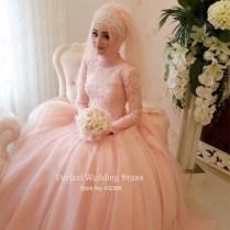 Muslim Wedding Dresses With Sleeves And Hijab