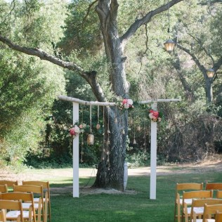 One Of A Kind Rustic Wedding Arch By Amorology