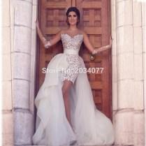 Online Get Cheap Asymmetrical Wedding Dresses