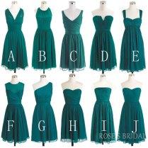 Online Get Cheap Hunter Green Wedding Dresses