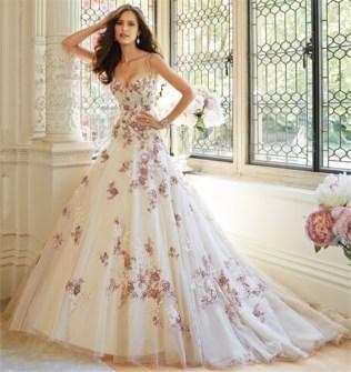 Online Get Cheap Purple Wedding Dresses