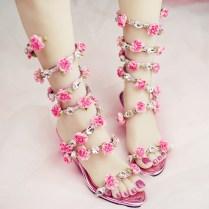 Online Get Cheap Wedding Flat Sandals