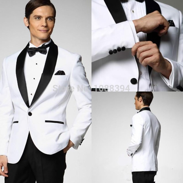 Online Get Cheap White Wedding Tuxedos
