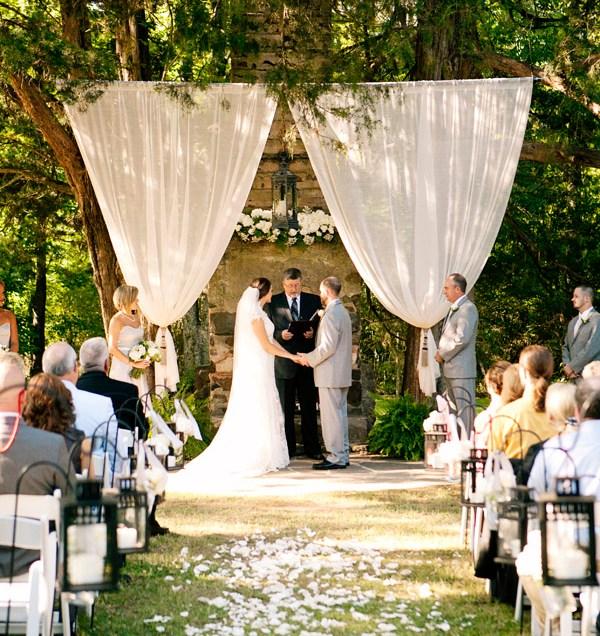 Outdoor Wedding Altar Ideas By Martha