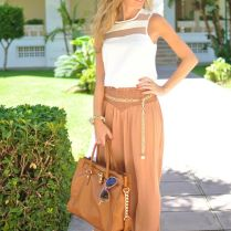 Pants And Blouse For Wedding Guest