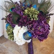 Peacock Wedding Theme Ideas Centerpieces, Flowers, Bridesmaid