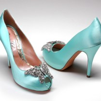 Perfect Tiffany Blue Wedding Shoes For A Blue