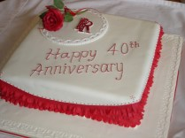 Planning A 40th Wedding Anniversary Party
