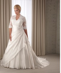 Plus Size Wedding Dresses With Sleeves To Choose
