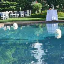 Poolside Wedding Decorations On Decorations With Pool 15 20511