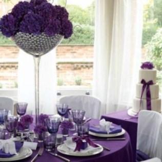 Purple And Silver Wedding Theme