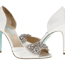 Purple Sparkly Wedding Shoes