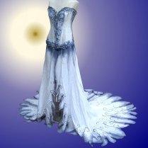 Real Corpse Bride Wedding Dress