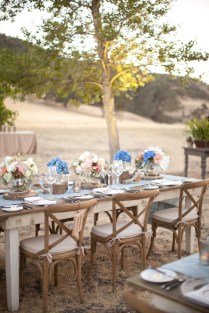Real Wedding Rustic Elegance At Figueroa Mountain Farmhouse