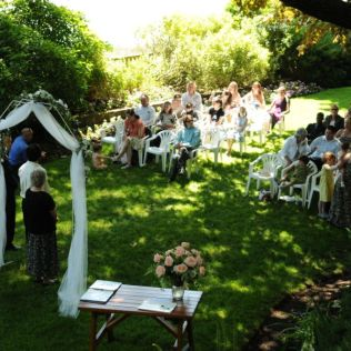 Real Weddings Natalie And Leon's Magical Garden Wedding