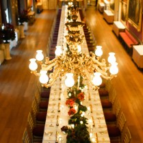 Red, White & Gold Christmas Wedding In The Uk