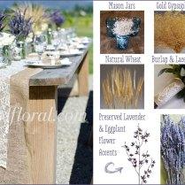 Rustic Lavender Wedding Tamara's Inspiration Board